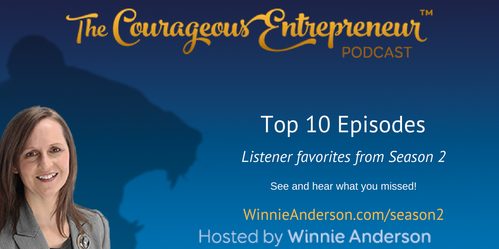 courageous entrepreneur show season 2 top 10 list
